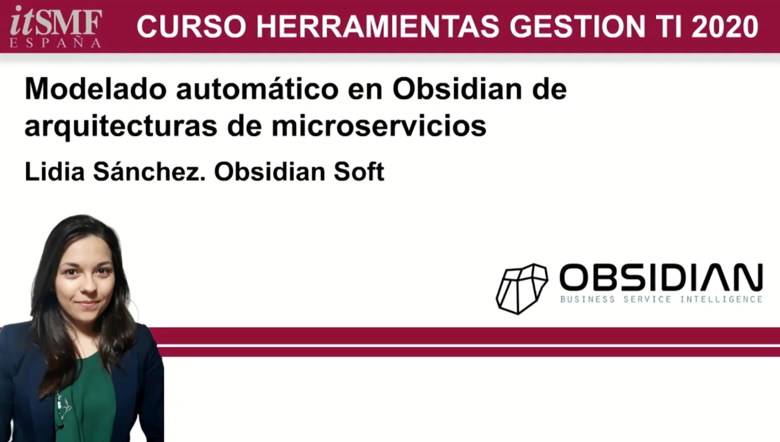 Modelado automático de arquitecturas de microservicios en Obsidian