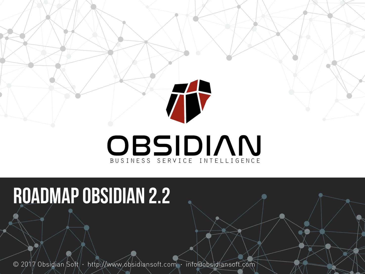 Apresentação das novidades do roadmap da Obsidian 2.2