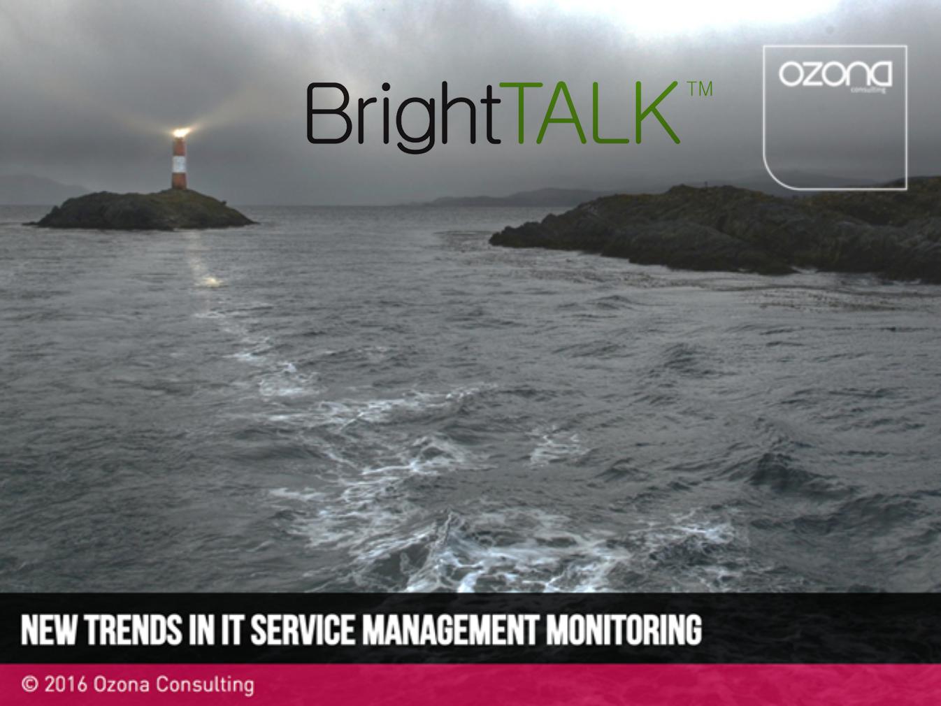 Monitorização de serviços e tendências por Diego Berea, David A. Smith