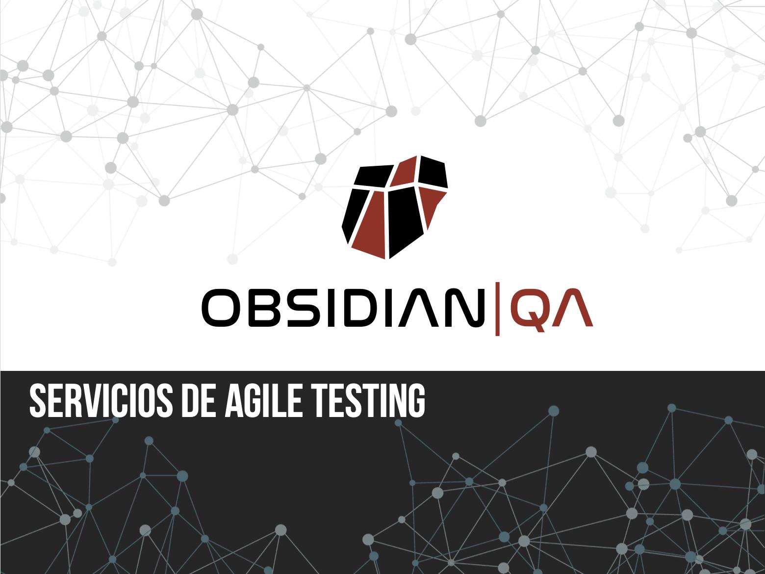 Agile testing con Obsidian QA